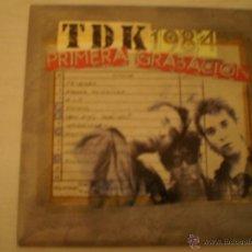 Discos de vinilo: TDK. 1984 PRIMERA GRABACION. Lote 45261715