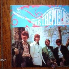 Discos de vinilo: THE TREMELOES - AS YOU ARE ( TAL COMO ESTAS ) + SUDDENLY YOU LOVE ME ( UNO TRANQUILO ) . Lote 45263198