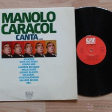 Discos de vinilo: MANOLO CARACOL CANTA...LP VINILO GRAMUSIC SPAIN 1975. Lote 45269980