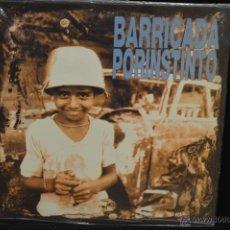 Discos de vinilo: BARRICADA - POR INSTINTO - LP. Lote 133210517