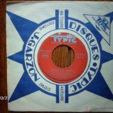 Discos de vinilo: ANGEL GIMENEZ Y MONCAYO - RECUERDO DE ARAGON + RONDA EN CALATAYUD - EDICIÓN FRANCESA . Lote 45275255