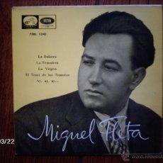 Discos de vinilo: MIGUEL FLETA - LA DOLORES + 3. Lote 45275606