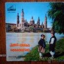 Discos de vinilo: PASCUAL ALBERO - JOTAS TIPICAS ARAGONESAS - POR UNA MOZA EN LA AUDIENCIA + 5. Lote 45275733