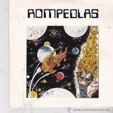 Discos de vinilo: ROMPEOLAS. VUELO EXPERIMENTAL. DIAL DISCOS 1984. Lote 45276403