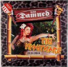 Discos de vinilo: DAMNED, THE-TIKI NIGHTMARE,LIMITED EDITION RED VINYL. Lote 45283052
