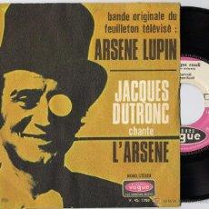 Discos de vinilo: GEORGES RAUDI / JACQUES DUTRONC - STERCOK (SG 1970) HAMMOND FUNK JERK (((ESCUCHA))). Lote 45283928