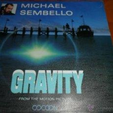 Discos de vinilo: BSO COCOON - MICHAEL SEMBELLO - GRAVITY. Lote 45284056