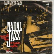 Discos de vinilo: EP CATALONIA JAZZ QUARTET : CATALUNYA JAZZ & NADAL JAZZ . Lote 45286424