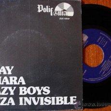 Discos de vinilo: SPRAY / CAMARA / KRAZY BOYS / DANZA INVISIBLE -EP 1982- MUY RARO. Lote 45286709