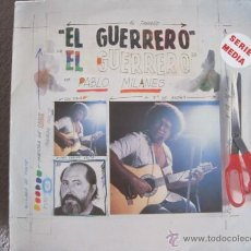 Discos de vinilo: PABLO MILANÉS - EL GUERRERO - LP ARIOLA 1984. Lote 45289568