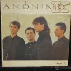Discos de vinilo: ANONIMO K - VA POR TI - LP. Lote 45289812