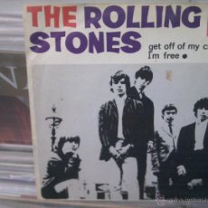 Discos de vinilo: THE ROLLING STONES - GET OFF MY CLOUD, DECCA, ME247, 45 RPM. Lote 45290542