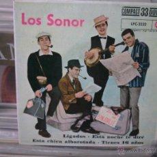 Discos de vinilo: LOS SONOR, LIGADOS, LPC-3232, RCA, SINGLE. Lote 45290723