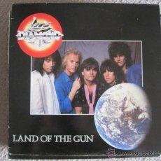 Discos de vinilo: LEGS DIAMOND - LAND OF THE GUN - LP MUSIC FOR NATIONS 1986. Lote 45293605