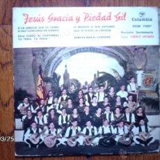Discos de vinilo: JESUS GRACIA Y PIEDAD GIL - SI LA LENGUA QUE TIENES TU + 4. Lote 45293698