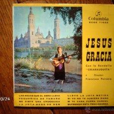 Discos de vinilo: JESUS GRACIA CON LA RONDALLA CESARAUGUSTA - LAS AGUAS QUE EL EBRO LLEVA + 7. Lote 45293996