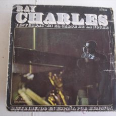 Discos de vinilo: RAY CHARLES YESTERDAY. Lote 45294282