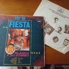 Discos de vinilo: DISCO GRANDE VINILO RARO - VOY DE FIESTA ORLANDO Y SU COMBO, DISCOMODA EDITA MEDELLIN COLOMBIA. Lote 45296025