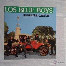 Discos de vinilo: LOS BLUE BOYS - DISCOGRAFIA COMPLETA HISTORIA DE LA MUSICA ESPAÑOLA LP 1991. Lote 45296066