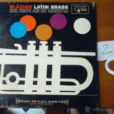 Discos de vinilo: DISCO VINILO RARO - BLAZING LATIN BRASS , ULTRA AUDIO , MADE IN USA. Lote 45297695