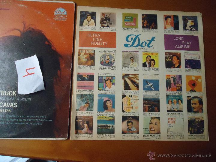 Discos de vinilo: DISCO grabde VINILO RARO - MOONSTRUCK , JOHN CACAVAS AND HIS ORCHESTRA , PRINTED USA - Foto 4 - 45298022