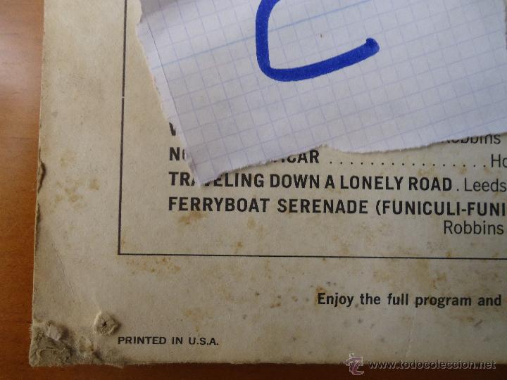 Discos de vinilo: DISCO VINILO RARO - SOUND 35 / MM ROME REVISITED THE RAY CHARLES SINGERS 1962 PRINTED USA - Foto 4 - 45298052