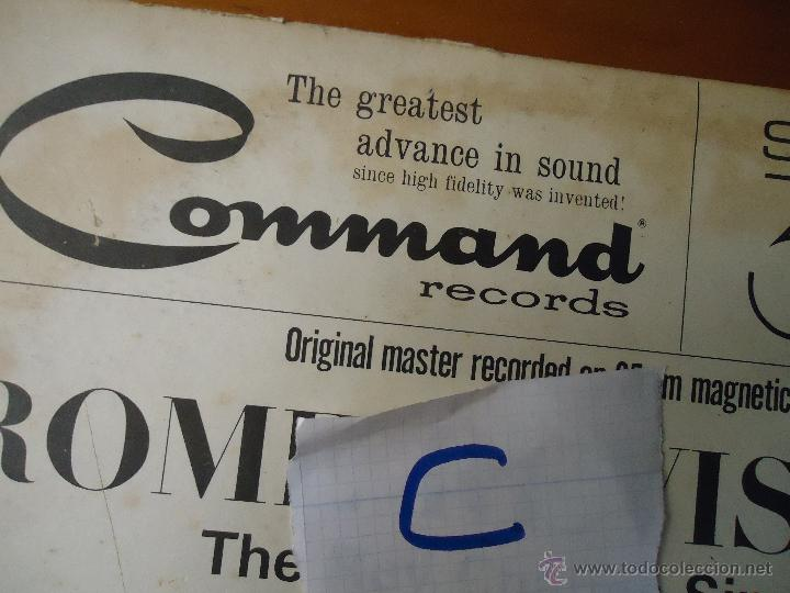 Discos de vinilo: DISCO VINILO RARO - SOUND 35 / MM ROME REVISITED THE RAY CHARLES SINGERS 1962 PRINTED USA - Foto 6 - 45298052