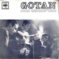 Discos de vinilo: EP JUAN CEDRON TRIO : GOTAN . Lote 45301047