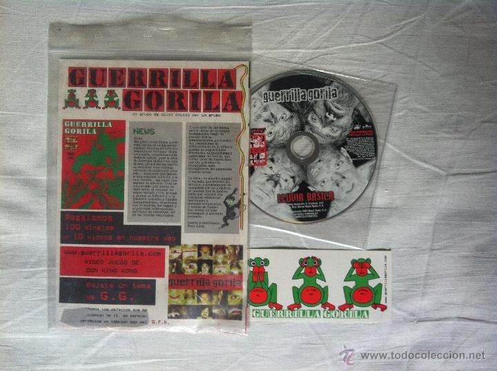 CD FANZINE-GUERRILLA GORILA-LLUVIA BASICA (Música - Discos - LP Vinilo - Grupos Españoles de los 90 a la actualidad)