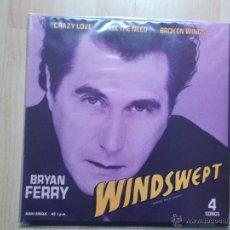 Discos de vinilo: BRYAN FERRY - WINDSWEPT - MAXI 4 CANCIONES. Lote 45307236