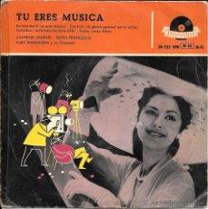 Discos de vinilo: TU ERES MUSICA - CATERINA VALENTE - SILVIO FRANCESCO - KURT EDELHAGEN Y SU ORQUESTA - POLYDOR 50'S . Lote 45307937