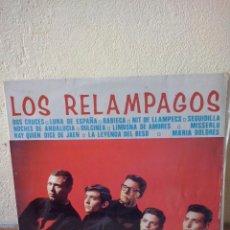 Discos de vinilo: LP LOS RELAMPAGOS- NOVOLA 1965. Lote 45311087