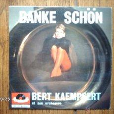 Discos de vinilo: BERT KAEMPFERT ET SON ORCHESTRE - DANKE SCHON + 3. Lote 45312492
