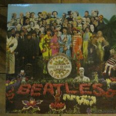 Discos de vinilo: THE BEATLES - SERGEANT PEPPERS LONELY HEARTS CLUB BAND.SELLO PARLOPHONE-ED.INGLESA 1967 CON ENCARTE.. Lote 45317394