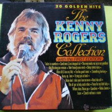 Discos de vinilo: KENNY ROGERS - THE KENNY ROGERS COLLECTION. 20 GOLDEN HITS LP MASTER. Lote 45319079