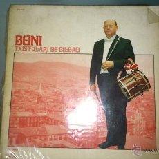 Discos de vinilo: BONI TXISTULARI DE BILBAO - LP 1973. Lote 45331556