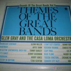 Discos de vinilo: GLEN GRAY AND THE CASA LOMA ORCHESTA THEMES OF THE GREAT BANDS (196? CAPITOL USA) ARTIE SHAW LES BRO. Lote 45331593