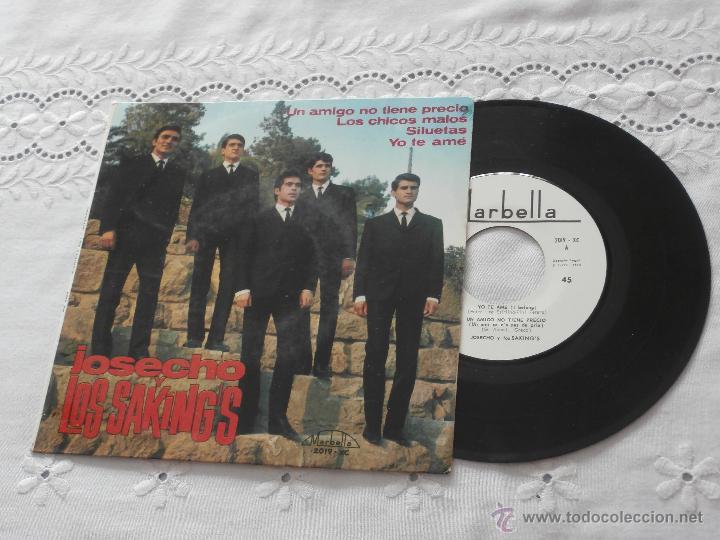 JOSECHU Y LOS SAKING´S 7´EP UN AMIGO NO TIENE PRECIO + 3 (1965) *ESTADO NUEVO*COLECCIONISMO* (Música - Discos de Vinilo - EPs - Grupos Españoles 50 y 60)