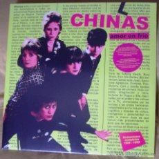 Discos de vinilo: LAS CHINAS - AMOR EN FRIO LP. Lote 128407736