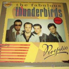 Discos de vinilo: THE FABULOUS THUNDERBIRDS - DOBLE LP - 1987 UK. Lote 45337384