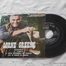 Discos de vinilo: LORNE GREENE 7´EP BONANZA + 3 TEMAS (1964) EDICION ESPAÑOLA *BUENA CONDICION*. Lote 45338109