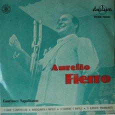 Discos de vinilo: AURELIO FIERRO - O MARE E MARGELLINA - EDICIÓN DE ESPAÑA. Lote 45338704