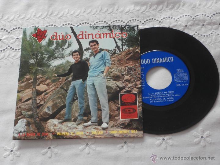 DUO DINAMICO 7`EP A LA BUENA DE DIOS + 3 TEMAS (1966) ESTADO NUEVO (Música - Discos de Vinilo - EPs - Grupos Españoles 50 y 60)