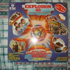 Discos de vinilo: EXPLOSION 60 GRUPOS MITICOS INTERNACIONALES , BEATLES, KINKS, ANIMALS, ETC. Lote 170347396