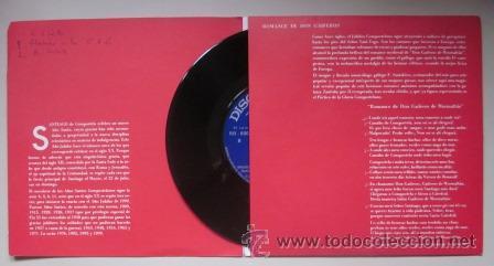Discos de vinilo: AÑO SANTO COMPOSTELANO 1976 - ROMANCE DE DON GAIFEROS - Discoteca PAX - Foto 2 - 45341228