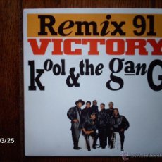 Discos de vinilo: KOOL & THE GANG VICTORY ( GLORY EDIT ) + VICTORY ( GLORY INSTRUMENTAL EDIT ). Lote 183647683