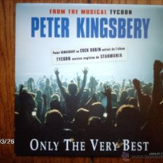 Discos de vinilo: PETER KINGSBERY ( COCK ROBIN ) - ONLY THE VERY BEST + EGO TRIP . Lote 45341639