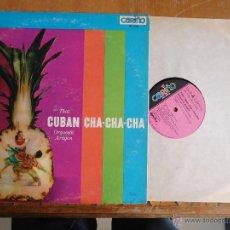 Discos de vinilo: DISCO VINILO RARO - CUBAN CHA CHA CHA , CARIÑO , REORDED IN CUBA , DINAFLEX RCA 1965 PRINTED USA. Lote 45349880