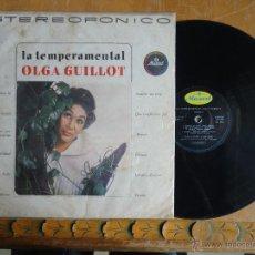 Discos de vinilo: DISCO VINILO RARO - LA TEMPERAMENTAL , OLGA GUILLOT , MUSANT , MEDELLIN COLOMBIA , CODISCOS . Lote 45349913