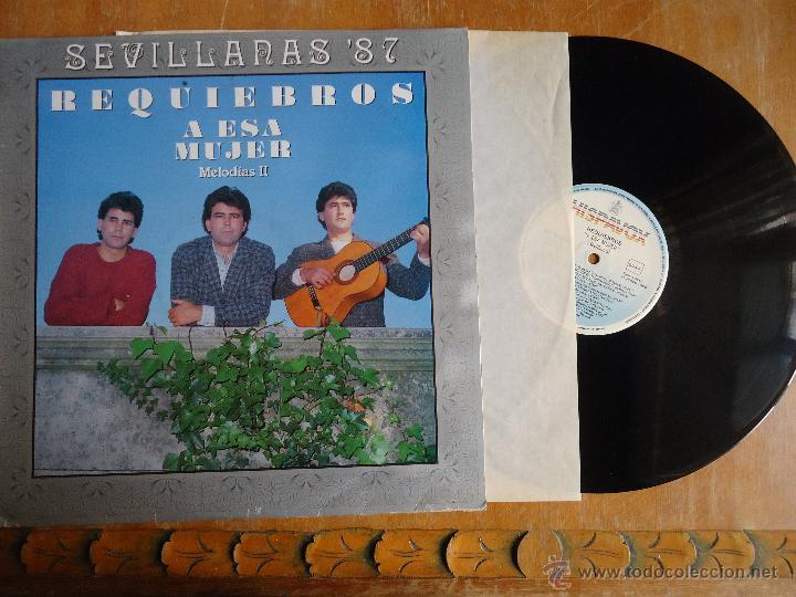DISCO VINILO RARO - SEVILLANAS 87 , REQUIEBROS A ESA MUJER MELODIAS, ESPAÑA - DIROGRAF (Música - Discos - Singles Vinilo - Otros estilos)